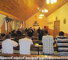 Каплиця Вищої Духовної Семінарії, Пресвятого Серця Ісуса