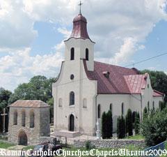 Костел св. Йосифа. Санктуарій М.Б. Святого Скапулярія
